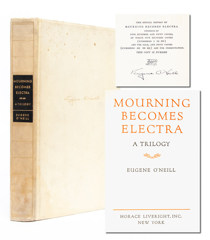 Mourning Becomes Electra (Signed Ltd. edition