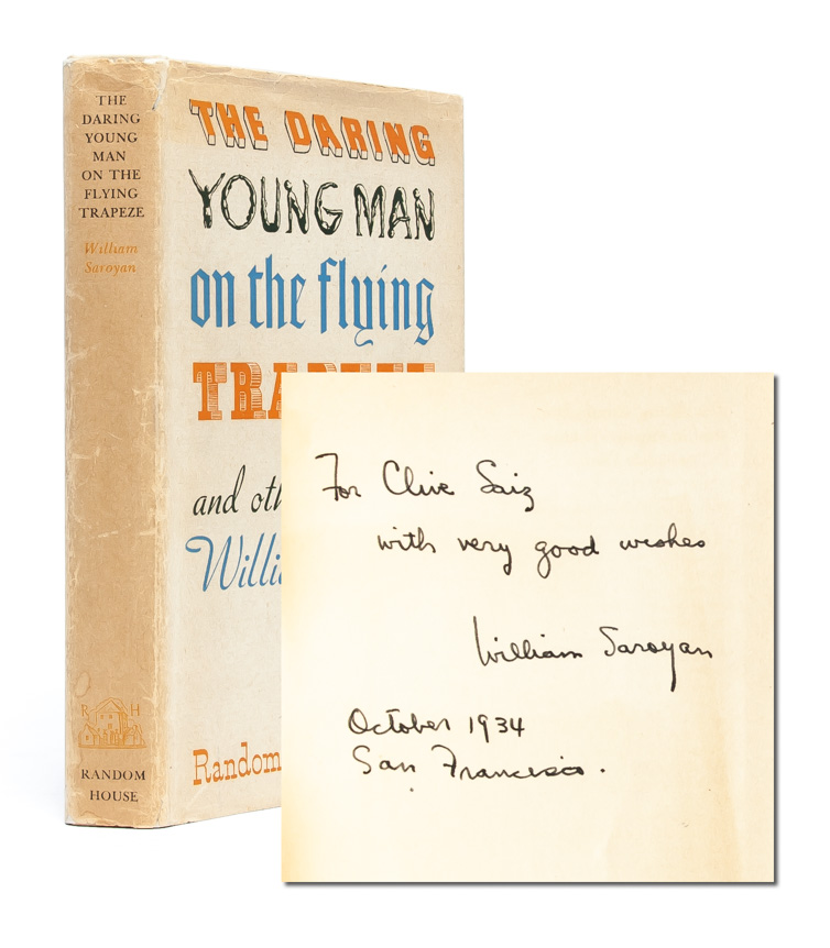 The Daring Young Man and the Flying Trapeze (Inscribed First Edition