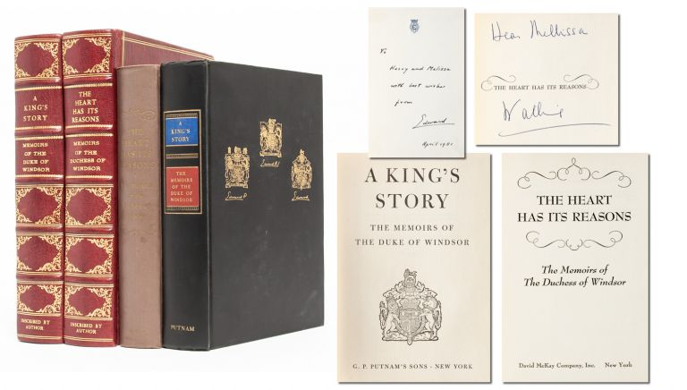 A King's Story: The Memoirs of the Duke of Windsor [with] The Heart Has its Reasons: The Memoirs of the Duchess of Windsor