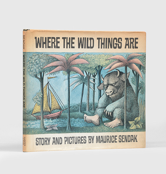 Where the Wild Things Are (Inscribed First Edition
