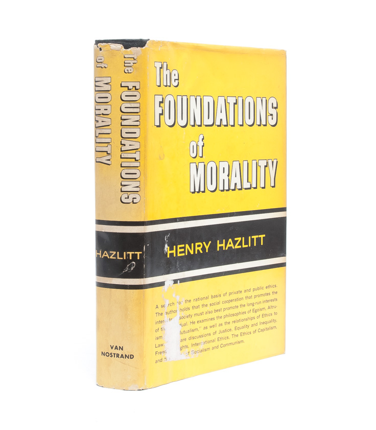 The Foundations of Morality (Association Copy