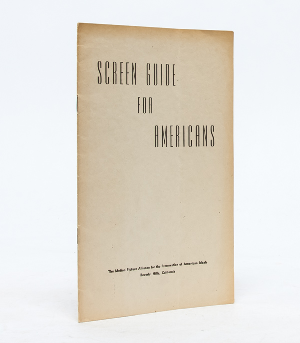 Screen Guide for Americans. Ayn Rand.