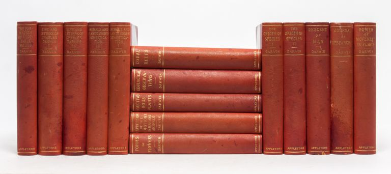 The Selected Works (15 vols.). Charles Darwin.