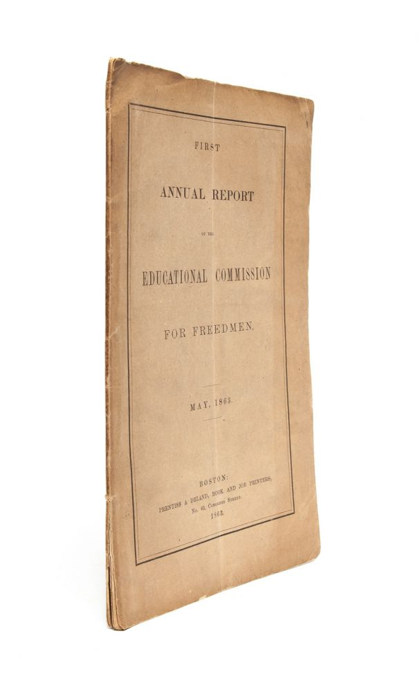 First Annual Report of the Educational Commission for Freedmen