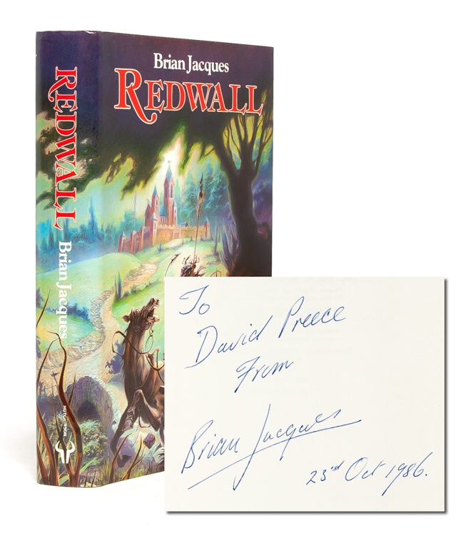Redwall (Presentation copy). Brian Jacques.