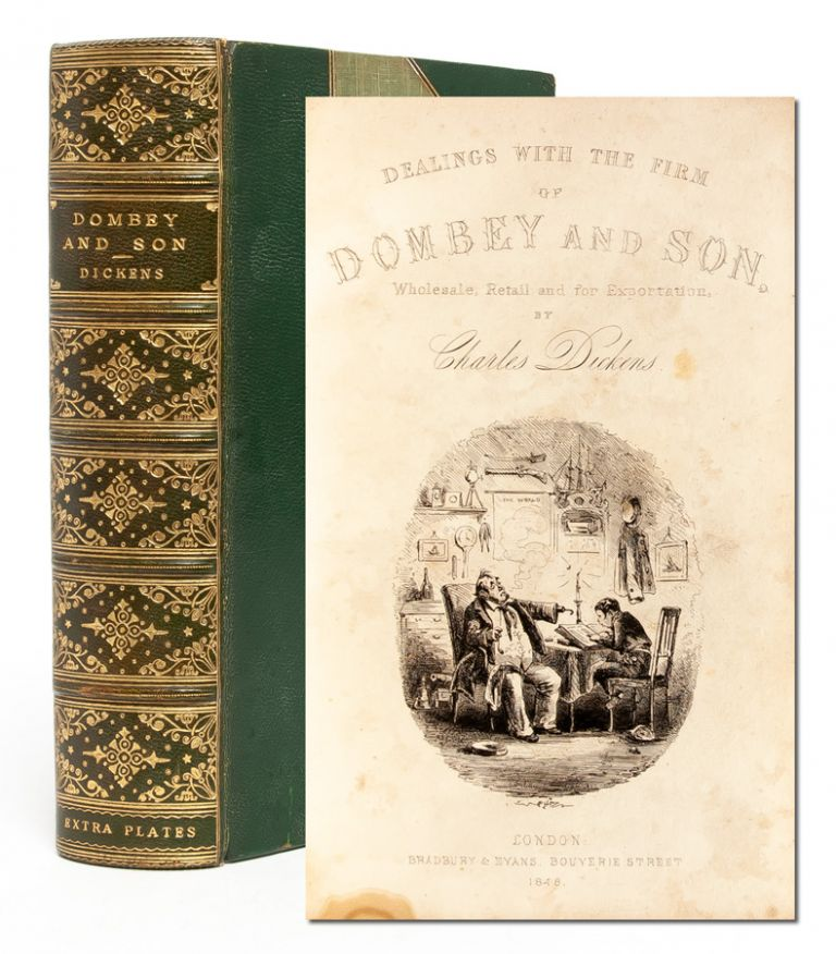 Dombey and Son (Extra-illustrated). Charles Dickens.