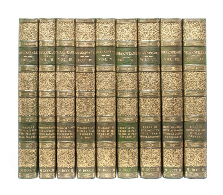 The Dramatic Works of Shakespeare (in 9 vols