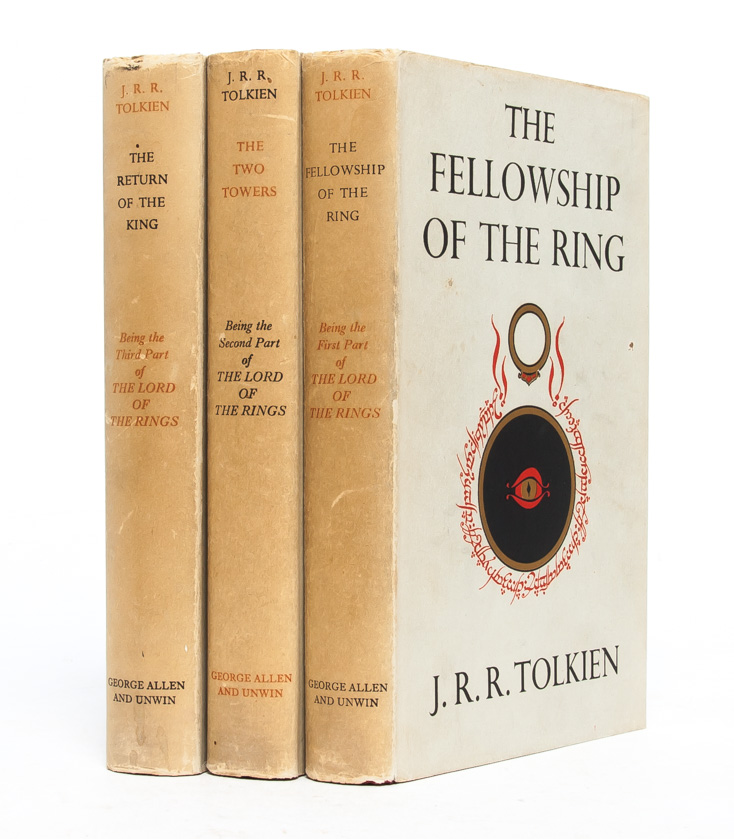 The Lord of the Rings Trilogy, comprised of: The Fellowship of the Ring