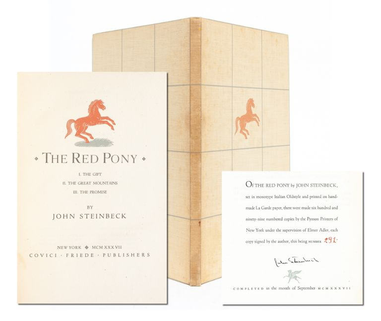 The Red Pony (Signed Limited Edition