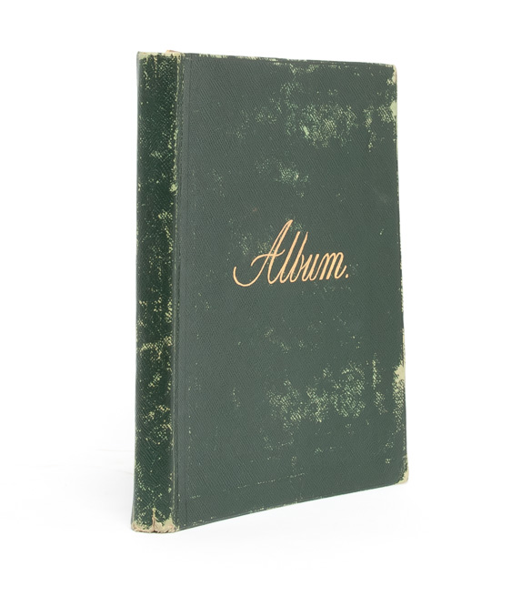 Literary and Artistic Commonplace Book of a Young Woman at the Turn of the Century