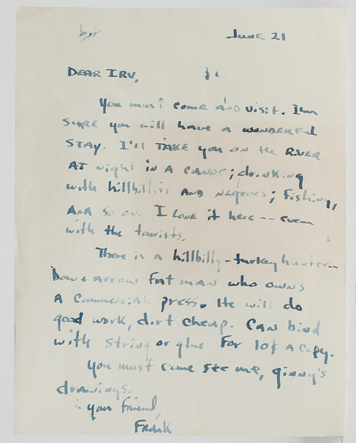 Autograph letter signed by Stanford to his publisher urging him to visit