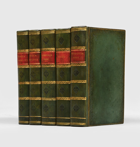Collected Works: Sense and Sensibility; Pride and Prejudice; Emma; Mansfield Park; Northanger Abbey and Persuasion (in 5 vols). Jane Austen.