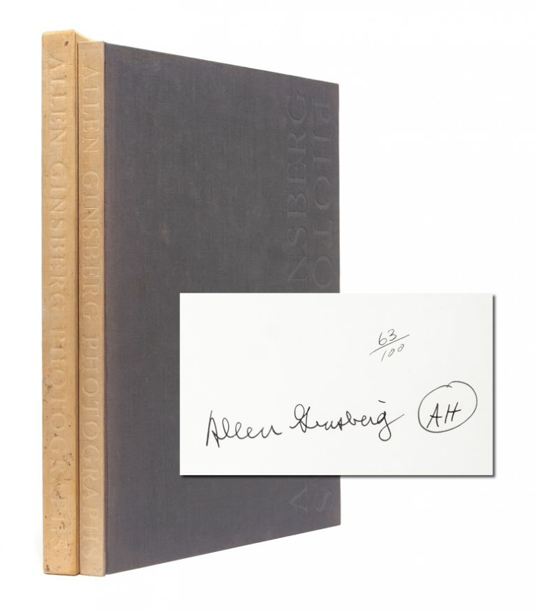 Allen Ginsberg: Photographs (Signed Limited