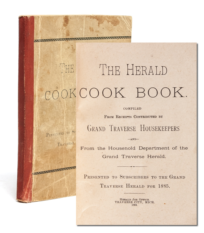 The Herald Cook Book. Compiled from Receipts by Grand Traverse Housekeepers