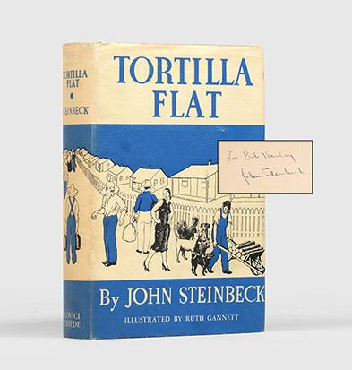 Tortilla Flat (Inscribed First Edition). John Steinbeck.