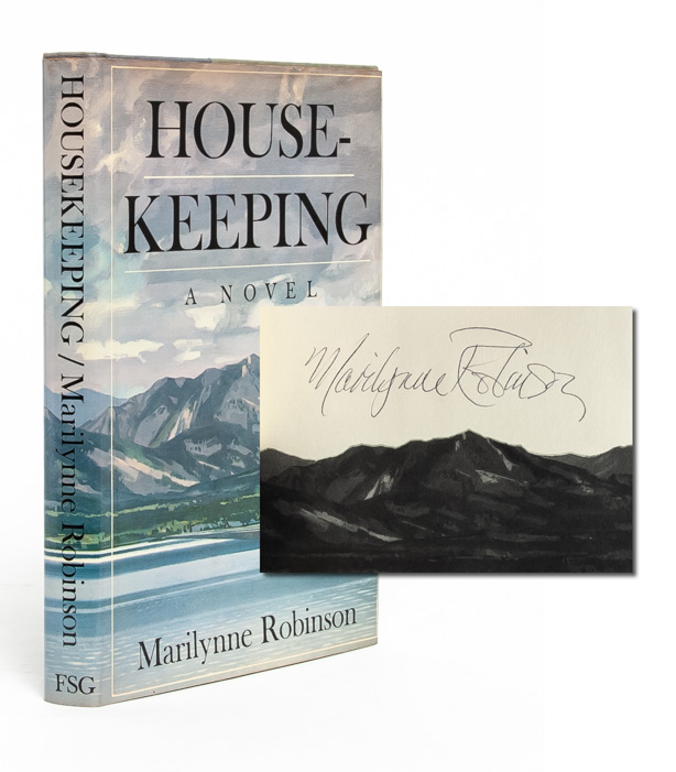 Housekeeping (Signed First Edition). Marilynne Robinson.