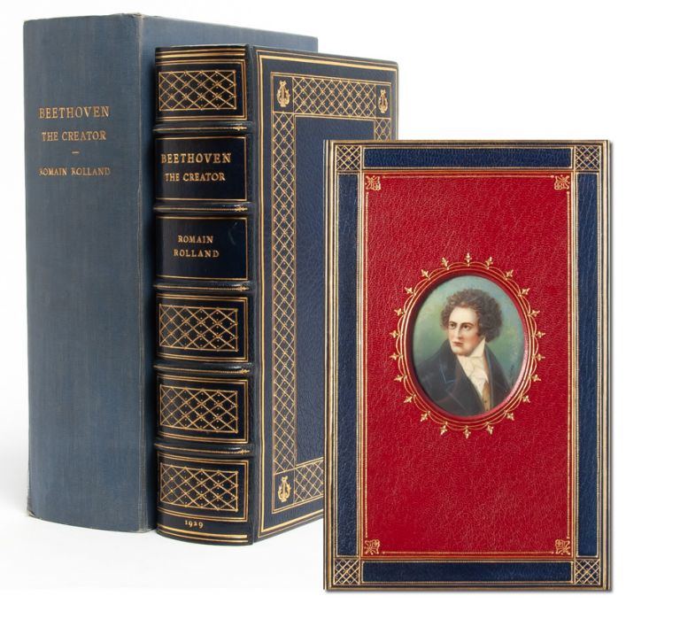Beethoven the Creator [Cosway style binding]. Romain Rolland, trans. by Ernest Newman.