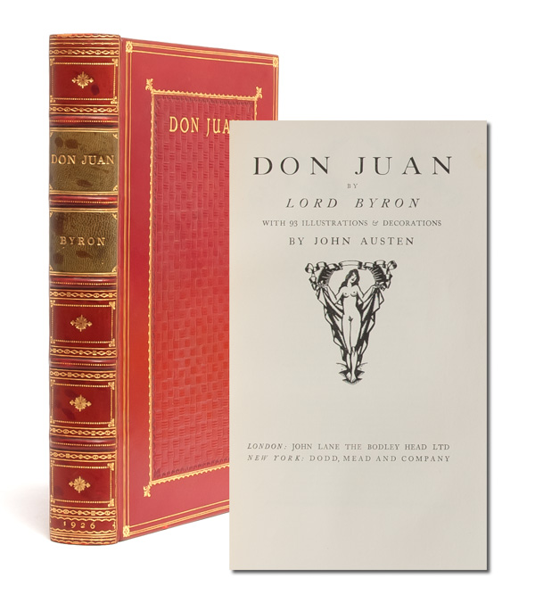 Don Juan. George Gordon Lord Byron, John Austen.