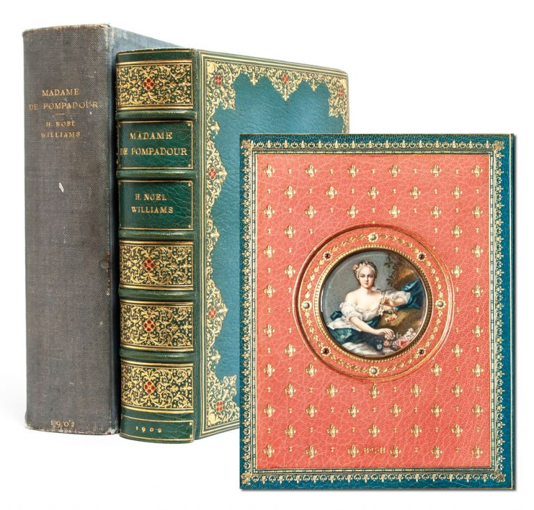 Madame de Pompadour [Jeweled Cosway-style binding]. H. Noel Williams.