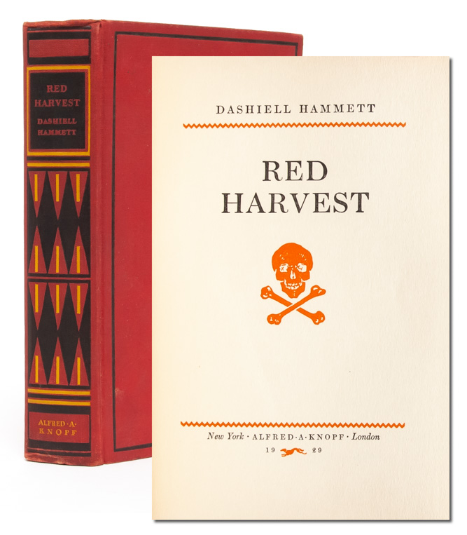 Red Harvest. Dashiell Hammett.