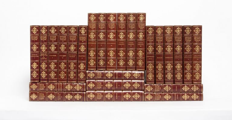The Writings of George Eliot (in 25 vols). George Eliot, Mary Ann Evans.
