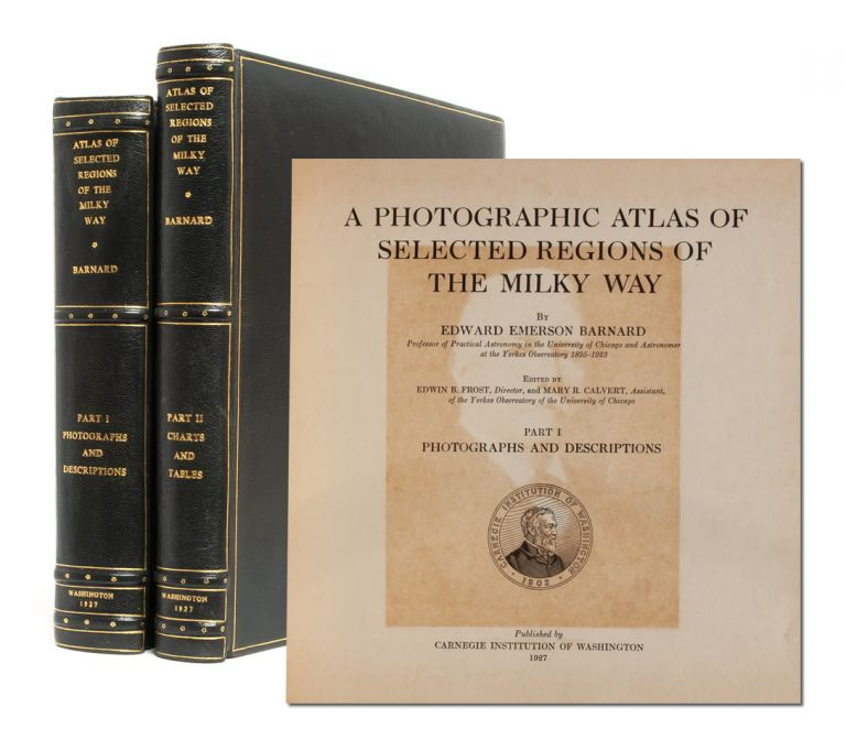 A Photographic Atlas of Selected Regions of the Milky Way (in 2 vols