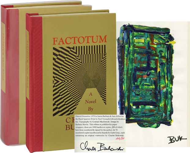 FACTOTUM (W. ORIGINAL ARTWORK