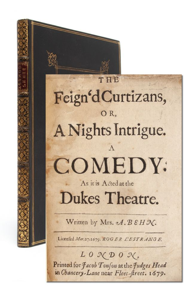 The Feign'd Curtizans, or, A Night's Intrigue. A Comedy. Mrs. A. Behn, Aphra.