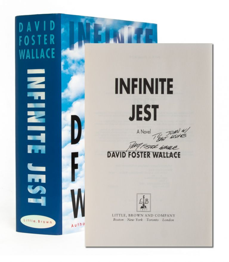 Infinite Jest (First edition signed). David Foster Wallace.