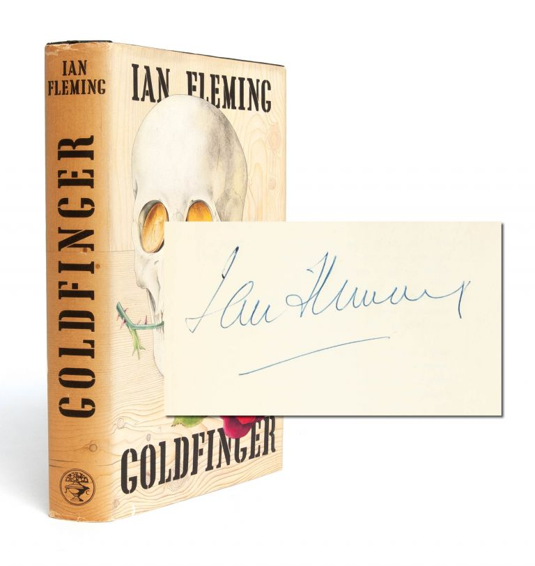Goldfinger (Signed first edition