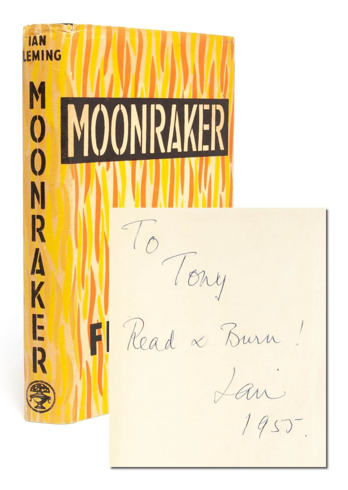 Moonraker (Presentation copy). Ian Fleming.