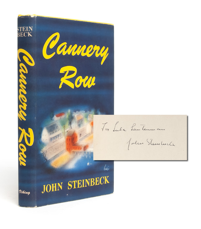 Cannery Row (Inscribed First Edition). John Steinbeck.