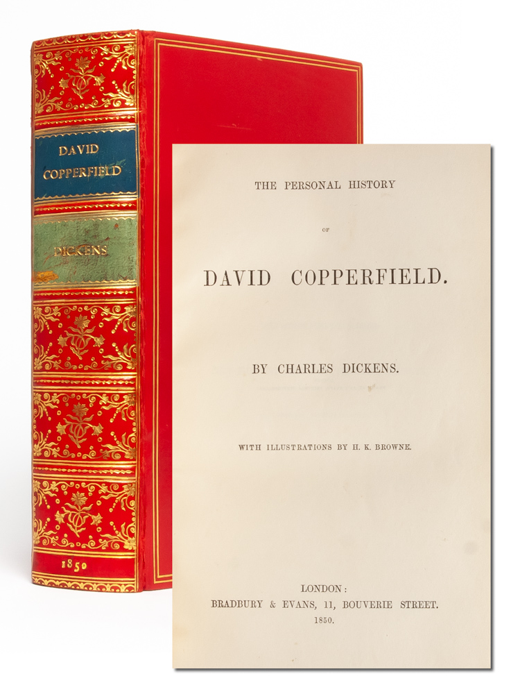 The Personal History of David Copperfield (with Signature). Charles Dickens.