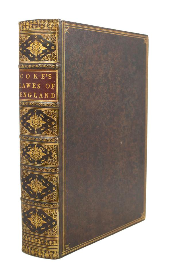The First Part of the Institutes of the Lawes of England. Or, A Commentarie upon Littleton, not the name of a Lawyer onely, but of the Law it selfe. Sir Edward Coke.