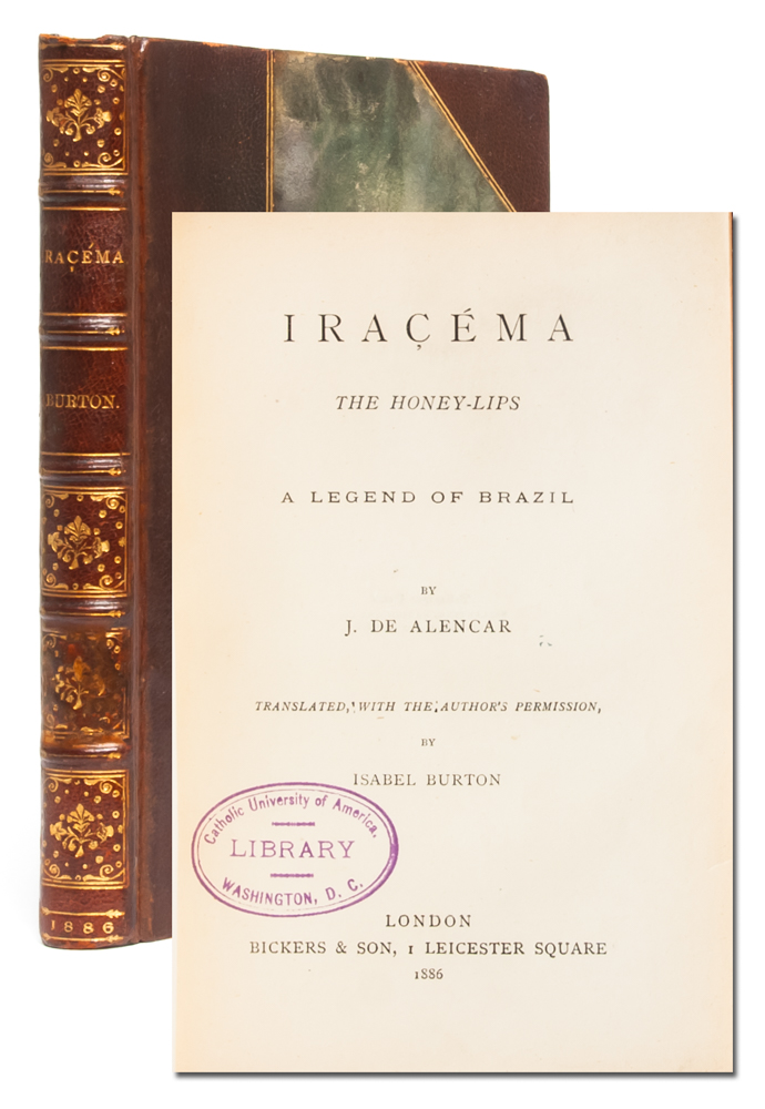 Iracema, or Honey Lips; and Manuel de Moraes the Convert