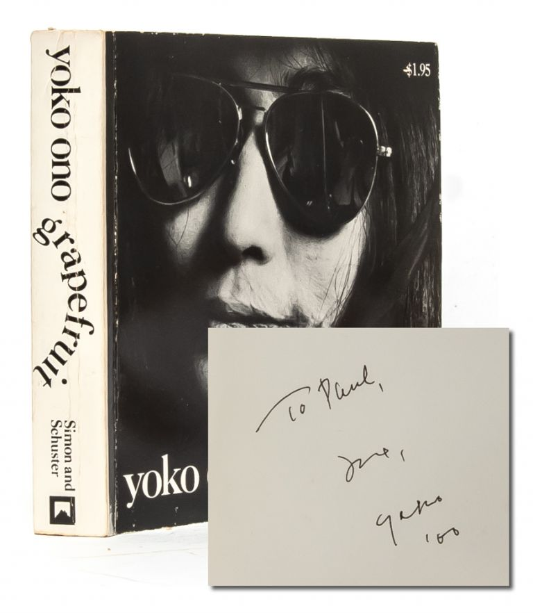 Grapefruit (Signed First Edition). Yoko Ono.