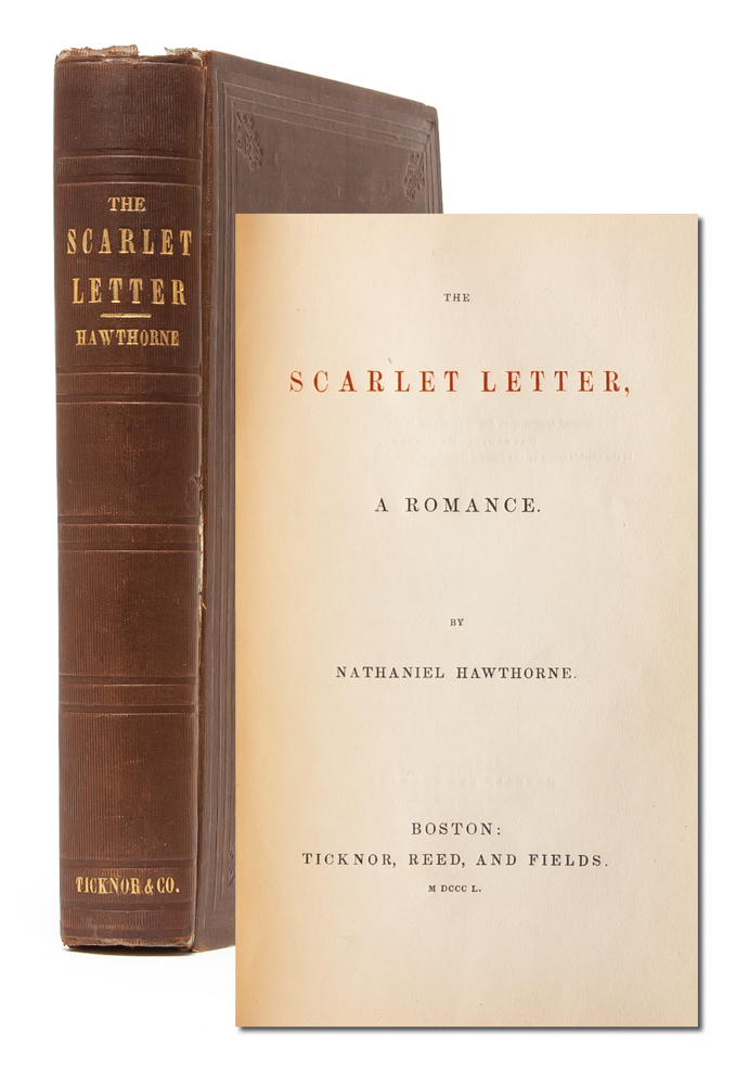 The Scarlet Letter: A Romance. Nathaniel Hawthorne.
