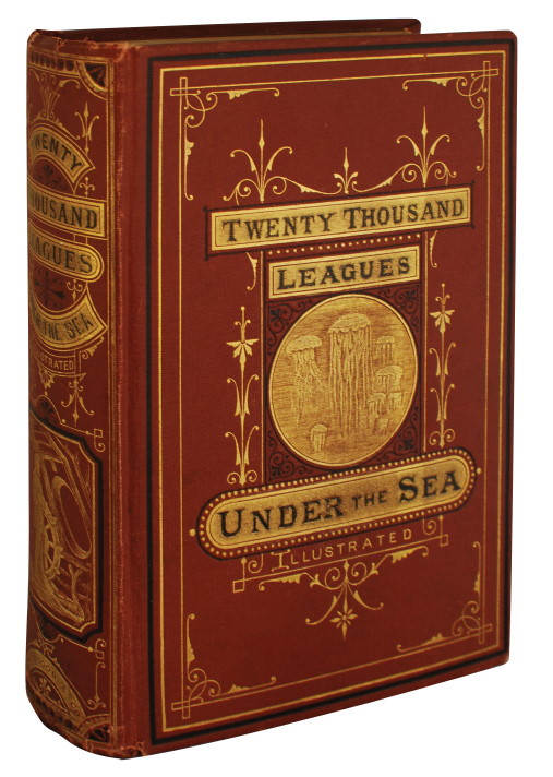 TWENTY THOUSAND LEAGUES UNDER THE SEAS. Jules Verne.