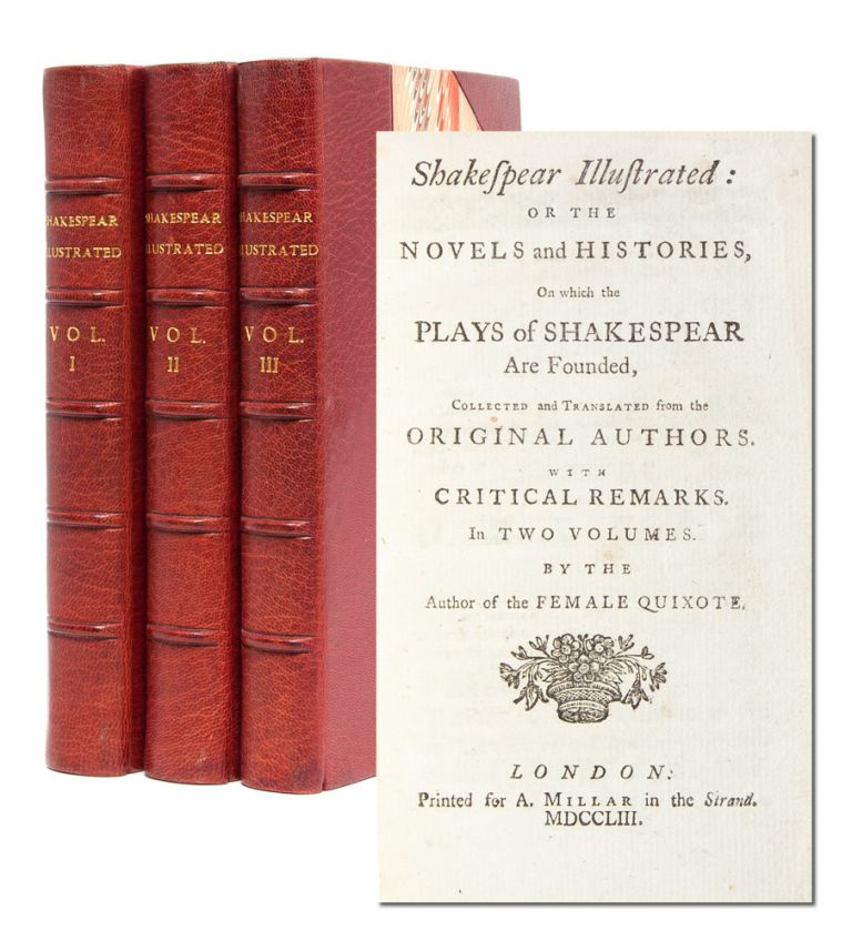 Shakespear Illustrated (in 3 vols