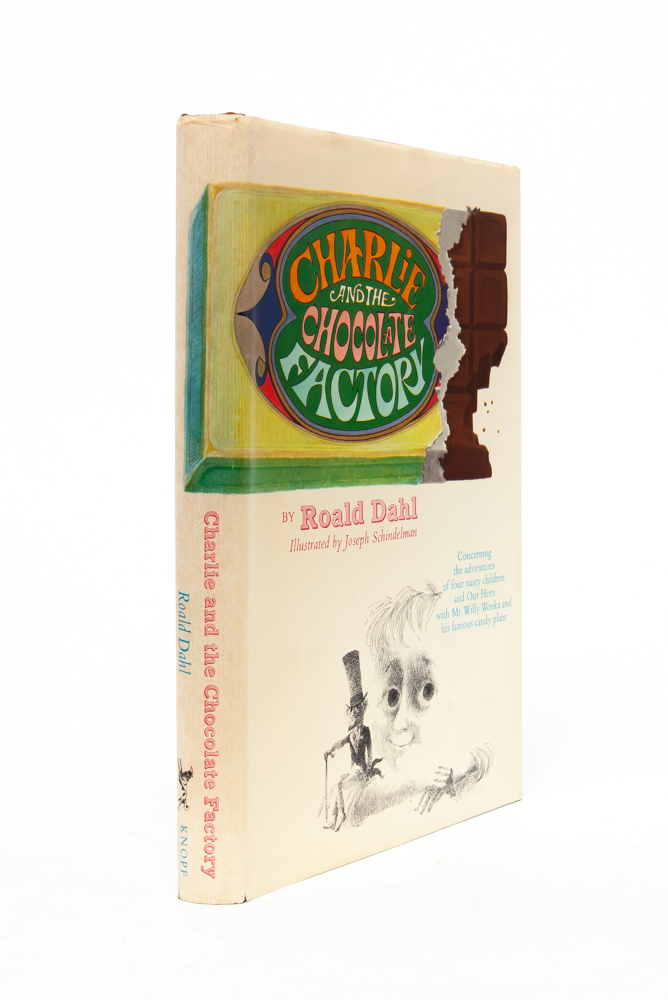 Charlie and the Chocolate Factory. Roald Dahl.
