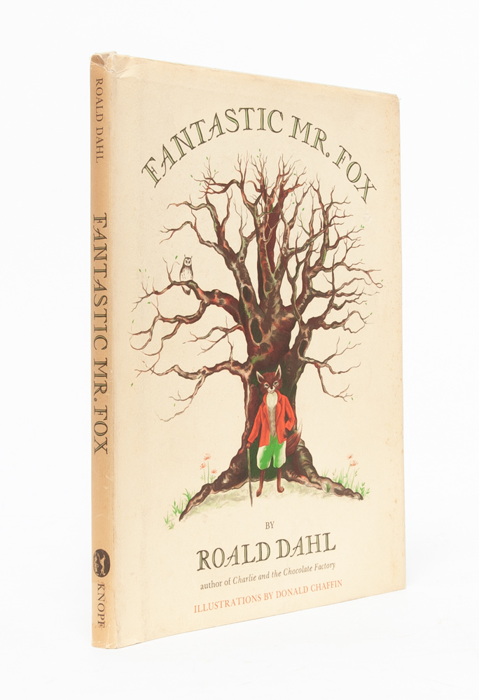 The Fantastic Mr Fox Roald Dahl First Edition