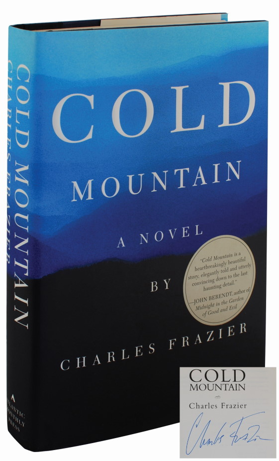 COLD MOUNTAIN (SIGNED FIRST EDITION)