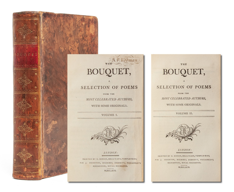 The Bouquet, A Selection of Poems from the Most Celebrated Authors, with some Originals