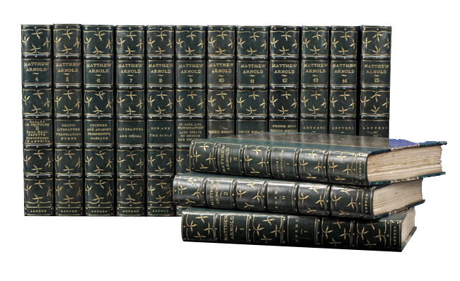 Works (in 15 vols). Matthew Arnold.