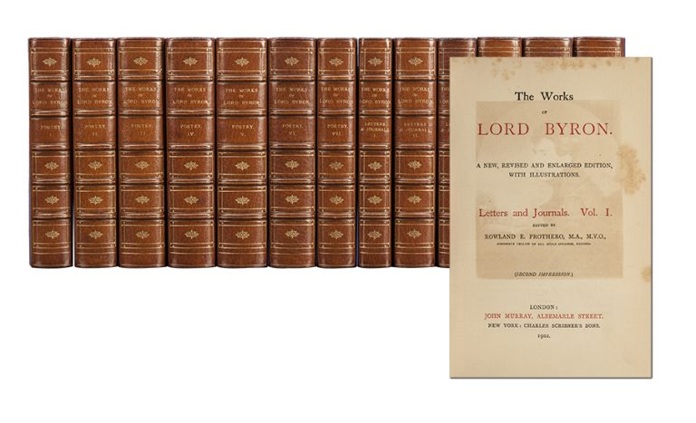 The Works of Lord Byron (in 13 vols). Lord George Gordon Byron.