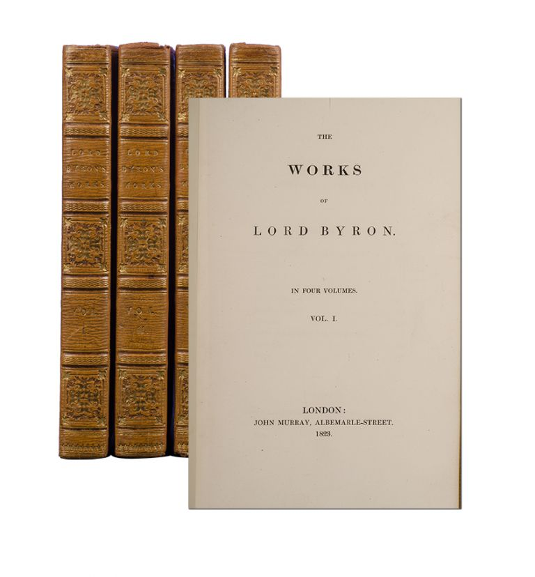 The Works (in 4 vols). Lord George Gordon Byron.