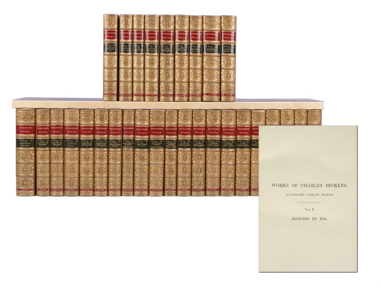 The Works of Charles Dickens (in 30 vols). Charles Dickens.
