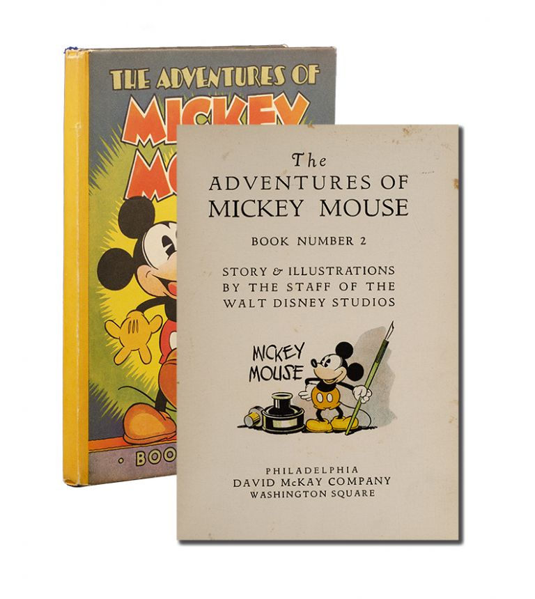 The Adventures of Mickey Mouse. Book Number 2. Walt Disney Studios.