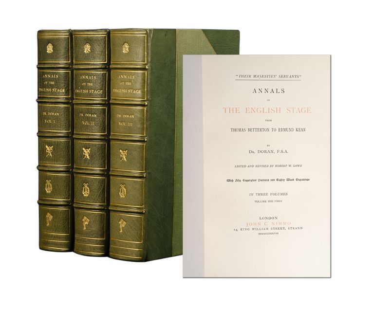 Annals of the English Stage (in 3 vols). John Doran.