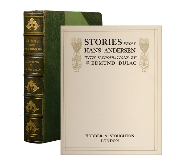 Stories from Hans Andersen. Hans Christian. Edmund Dulac Andersen.